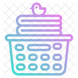 Laundry Basket Icon