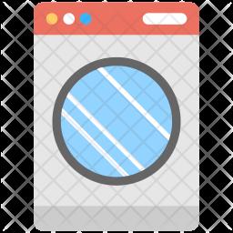 Laundry Machine Icon