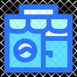 Laundry shop Icon