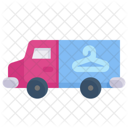 Laundry Truck Icon