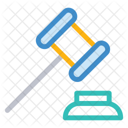 Law Colored Outline Icon