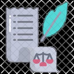 Law Documents Icon