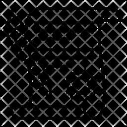 Law Paper Line Icon
