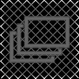Layer Line Icon