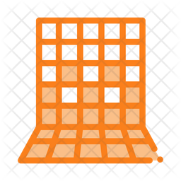 Laying Square Tiles Icon
