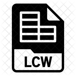 Lcw file Icon