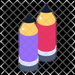 Lead Pencils Icon