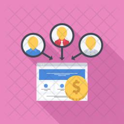 Leads, Seo, Business, Startup, Marketing, Optimization Icon