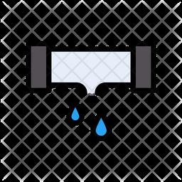 Leakage Pipe Icon
