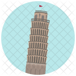 Leaning tower Icon