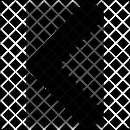 Left Glyph Icon