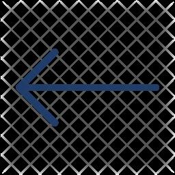 Left Arrow Logo Icon