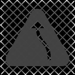 Left bend Icon