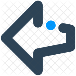 Left Direction Emoji Icon