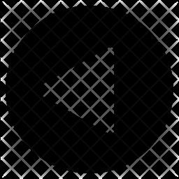 Left pointer Icon