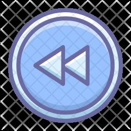 Left rewind Icon