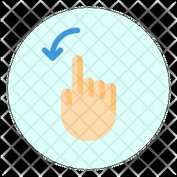 Left Rotate Icon