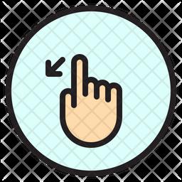Left Slant Icon