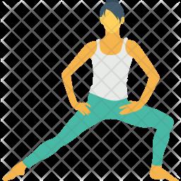 Leg Stretch Icon