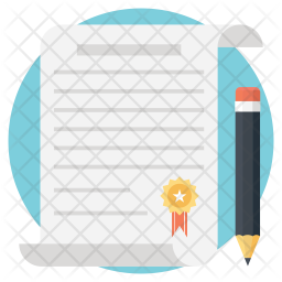Legal Documents Flat Icon