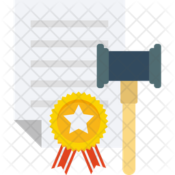 Legal Papers Flat Icon