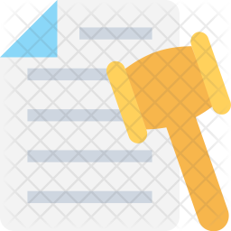 Legal Papers Icon