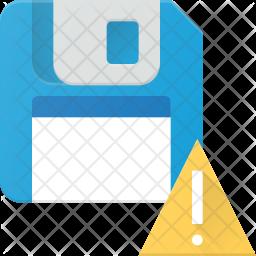 Lert in floppy Icon