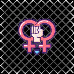 Lesbian feminism Icon