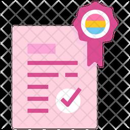 Lgbt Law Flat Icon