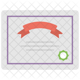 Licence Flat Icon