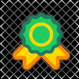 License Colored Outline Icon