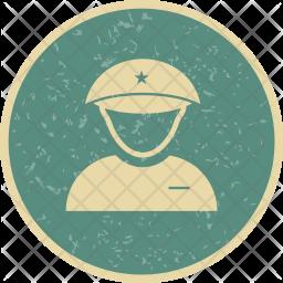 Lieutenant Flat Icon