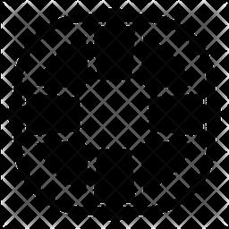 Lifebuoy Glyph Icon