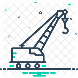 Lifting-Crane Icon