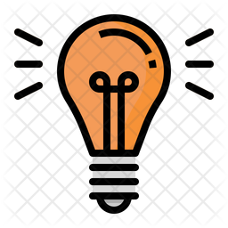 Light Bulb Icon Of Colored Outline Style Available In Svg Png Eps Ai Icon Fonts