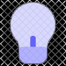 Light-bulb Flat Icon