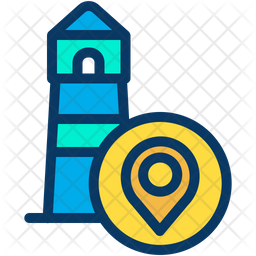 Light House Location Icon