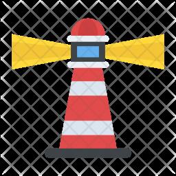 Lighthouse Flat Icon