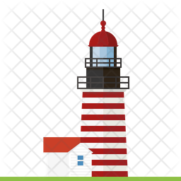 West Quoddy Head lighthouse Icon