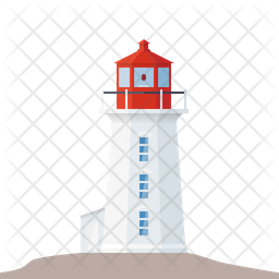 Peggy's Cove lighthouse Icon
