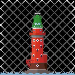 Hohe Weg lighthouse Icon