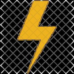 Lightning bolts Icon