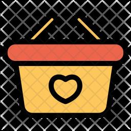 Like Basket Icon