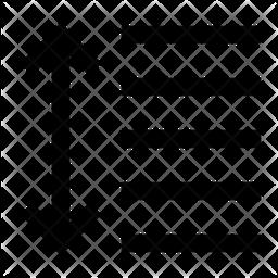 Line Height Line Icon
