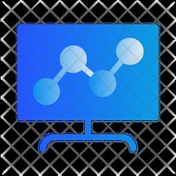 Link Computer Gradient Icon