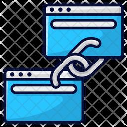 Linked Websites Icon