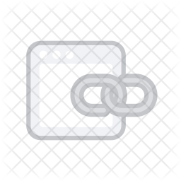 Links Colored Outline Icon
