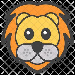 Lion Emoji Icon