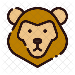 Lion Icon Of Colored Outline Style Available In Svg Png Eps Ai Icon Fonts