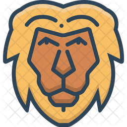 Lion Icon Of Colored Outline Style Available In Svg Png Eps Ai Icon Fonts 9 transparent png illustrations and cipart matching lion outline. iconscout